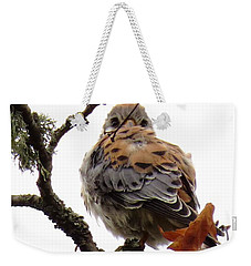 Weekender Tote Bag featuring the photograph On Watch by I'ina Van Lawick