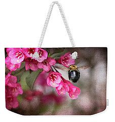 On Wine And Roses Weigela - 2 Weekender Tote Bag