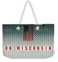 On Wisconsin  Weekender Tote Bag
