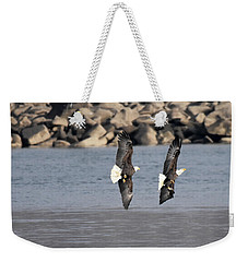 On Your Six Weekender Tote Bag
