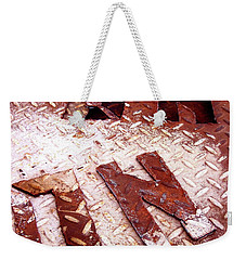 On Squared Weekender Tote Bag by Michael Cinnamond