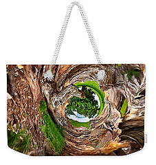 Weekender Tote Bag featuring the photograph Once A Tree by Pennie  McCracken