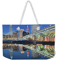 Weekender Tote Bag featuring the photograph Once In A Lifetime by Frozen in Time Fine Art Photography