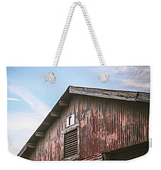 Weekender Tote Bag featuring the photograph Once Industrial - Series 1 by Trish Mistric