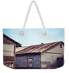 Weekender Tote Bag featuring the photograph Once Industrial - Series 2 by Trish Mistric