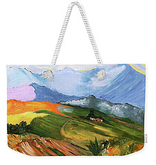 Once There Were Green Fields Weekender Tote Bag