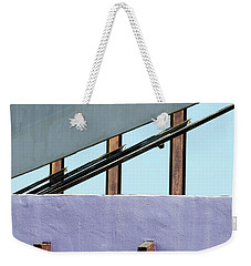 Once Upon A Rooftop Weekender Tote Bag