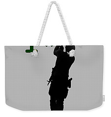 Weekender Tote Bag featuring the photograph One Asterisk by David Morefield