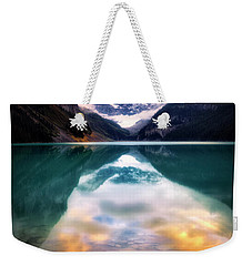 One Colorful Moment  Weekender Tote Bag by Nicki Frates