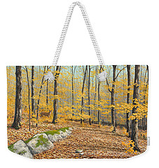 One Day In October Weekender Tote Bag