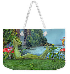 One Fine Day Weekender Tote Bag by Betsy Knapp