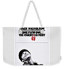 One Flew Over The Cuckoo's Nest Weekender Tote Bag by Movie Poster Prints
