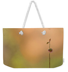Weekender Tote Bag featuring the photograph oNe by Gene Garnace