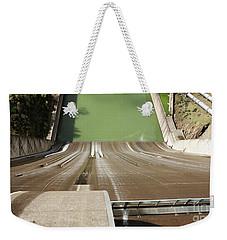 Weekender Tote Bag featuring the photograph One Heckuva Waterslide by Carol Lynn Coronios