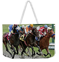 One Hoof Down Weekender Tote Bag