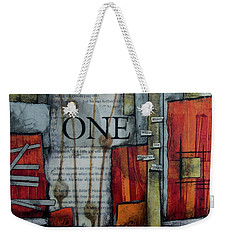 One Imperfect Bloom  Weekender Tote Bag