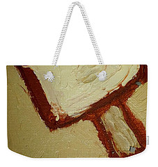 Weekender Tote Bag featuring the painting One Lamp by Shea Holliman
