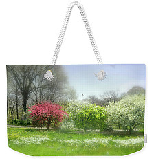 Weekender Tote Bag featuring the photograph One Love by Diana Angstadt