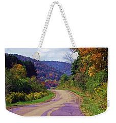 One More Bend Weekender Tote Bag