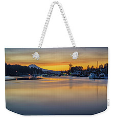 One Morning In Gig Harbor Weekender Tote Bag