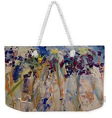 One Of A Kind Weekender Tote Bag by Judith Desrosiers