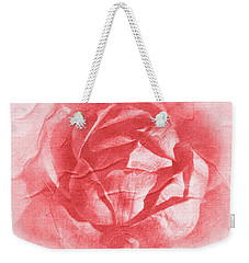 One Perfect Rose Weekender Tote Bag by Iryna Goodall