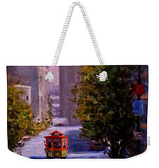 One Quiet Afternoon In San Francisco.. Weekender Tote Bag