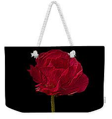 One Red Flower Tee Shirt Weekender Tote Bag