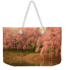 Weekender Tote Bag featuring the photograph One Spring Day - Holmdel Park by Angie Tirado