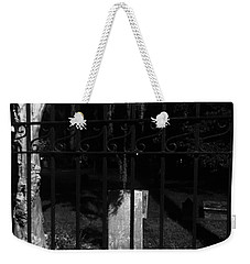 One Stone Black And White Weekender Tote Bag