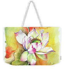 Weekender Tote Bag featuring the painting One Sunny Day by Anna Ewa Miarczynska