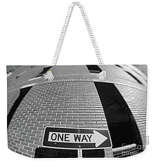 One Way Or Another Weekender Tote Bag