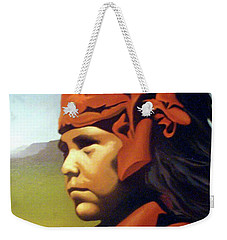 One Who Soars With The Hawk Weekender Tote Bag