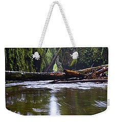 Weekender Tote Bag featuring the photograph Oneonta Pano by Jonathan Davison