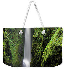 Oneonta Portrait Weekender Tote Bag by Jonathan Davison