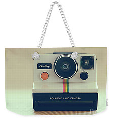 Weekender Tote Bag featuring the photograph Onestep Polaroid by Ana V Ramirez