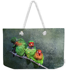 One,two,three... Weekender Tote Bag
