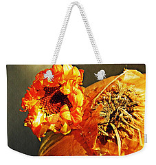 Onion And His Daisy Weekender Tote Bag by Sarah Loft