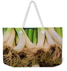 Onions 02 Weekender Tote Bag by Wally Hampton