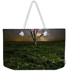 Weekender Tote Bag featuring the photograph Only by Aaron J Groen