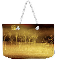 Only At Night Weekender Tote Bag