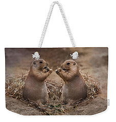 Weekender Tote Bag featuring the photograph Only Hearts II by Robin-Lee Vieira