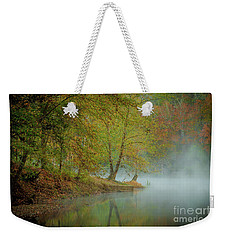 Weekender Tote Bag featuring the photograph Only If I Go by Iris Greenwell
