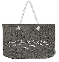 Only Leave Footprints Weekender Tote Bag