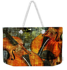 Only Music Heals A Broken Heart Weekender Tote Bag
