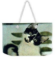 Onyx Weekender Tote Bag