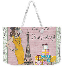 Ooh La La Weekender Tote Bag