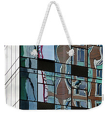 Op Art Windows I Weekender Tote Bag by Marianne Campolongo