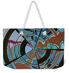 Op Art Windows Orb Weekender Tote Bag by Marianne Campolongo