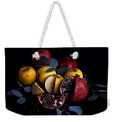 Opal Apples And Pomegranates Weekender Tote Bag